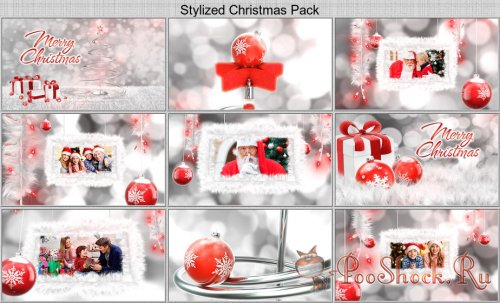 VideoHive - Stylized Christmas Pack (AE-Project)