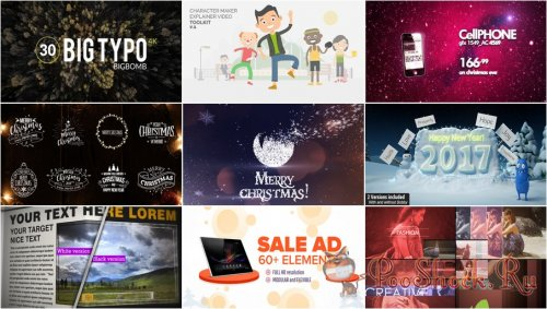 VideoHivePack - 349 (After Effects Projects Pack)