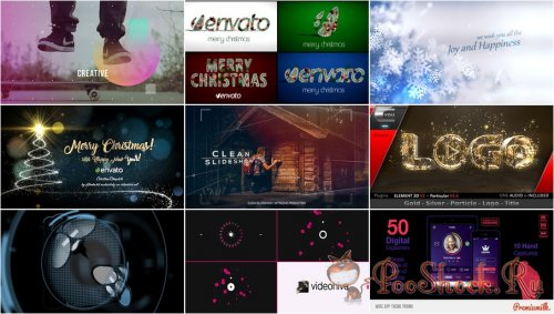 VideoHivePack - 351 (After Effects Projects Pack)