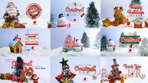 VideoHive - 10 Miniature Christmas Wishes (AE-Project)