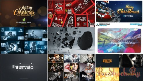 VideoHivePack - 362 (After Effects Projects Pack)
