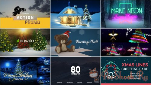 VideoHivePack - 363 (After Effects Projects Pack)
