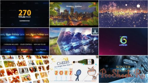 VideoHivePack - 365 (After Effects Projects Pack)