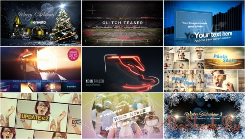 VideoHivePack - 373 (After Effects Projects Pack)
