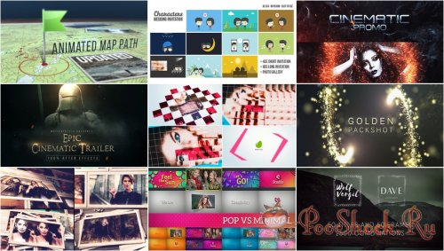 VideoHivePack - 385 (After Effects Projects Pack)