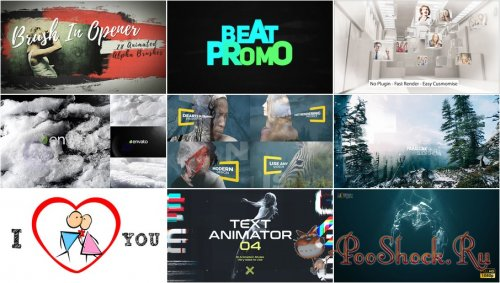 VideoHivePack - 425 (After Effects Projects Pack)