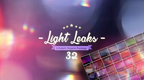 VideoHive - Light Leaks Pack 17419568 (MOV)