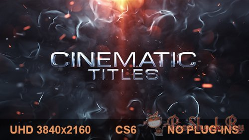 VideoHive - Cinematic Titles (AE-Project)