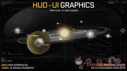 VideoHive - HUD - UI Graphics for FILM, TV and GAMES (AE-Project)
