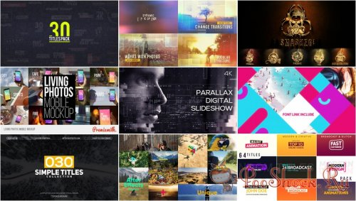 VideoHivePack - 437 (After Effects Projects Pack)