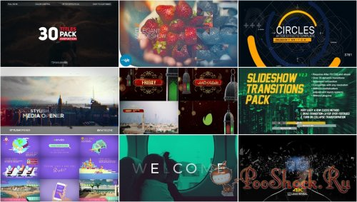 VideoHivePack - 448 (After Effects Projects Pack)