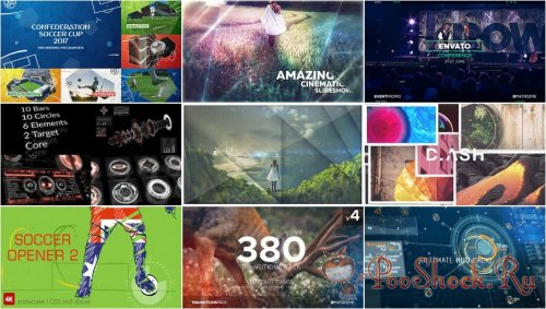 VideoHivePack - 466 (After Effects Projects Pack)