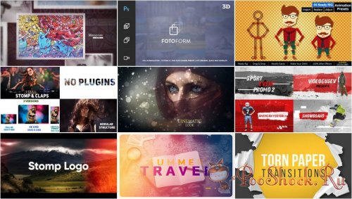 VideoHivePack - 468 (After Effects Projects Pack)