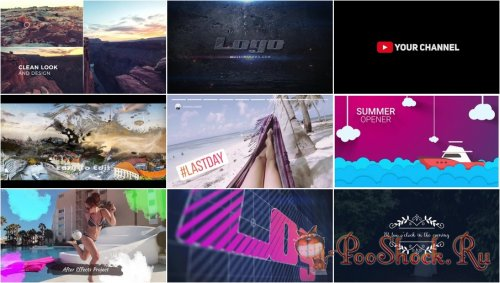 After Effects Projects Pack - 53 (Motion Array)