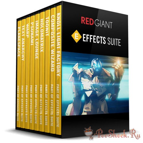 Red Giant Effects Suite 11.1.11