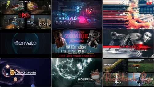 VideoHivePack - 500 (After Effects Projects Pack)