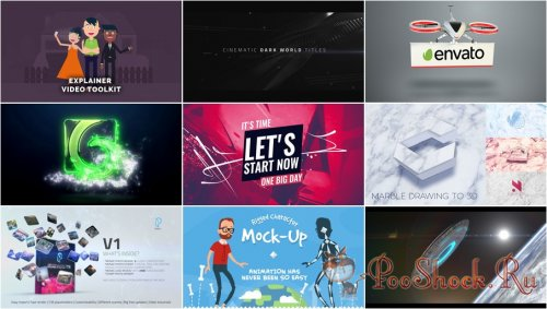 VideoHivePack - 502 (After Effects Projects Pack)