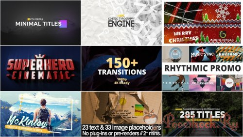 VideoHivePack - 506 (After Effects Projects Pack)