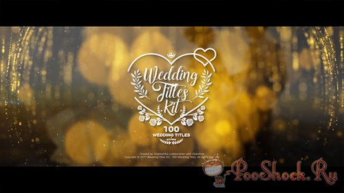 VideoHive - Wedding Titles Kit - 100 Titles (AEP)