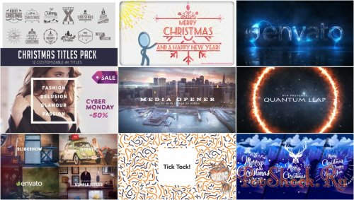 VideoHivePack - 518 (After Effects Projects Pack)