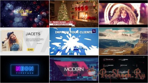 After Effects Projects Pack - 71 (Motion Array)