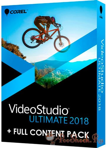 Corel Videostudio Ultimate 2018 (21.1.0.89) RUS + FULL CONTENT PACK