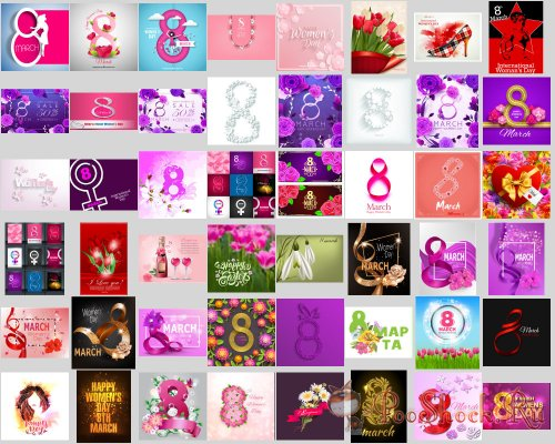 Happy Mother's Day vector Illustrations (EPS)
