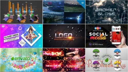 VideoHivePack - 553 (After Effects Projects Pack)