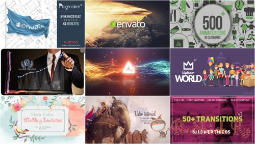 VideoHivePack - 554 (After Effects Projects Pack)