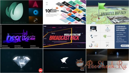 VideoHivePack - 555 (After Effects Projects Pack)