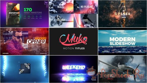 VideoHivePack - 556 (After Effects Projects Pack)