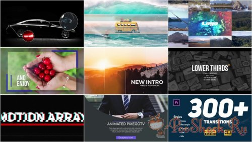 Premiere Pro Projects Pack - 7 (Motion Array)