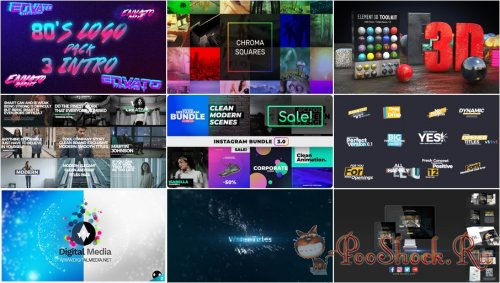 VideoHivePack - 564 (After Effects Projects Pack)