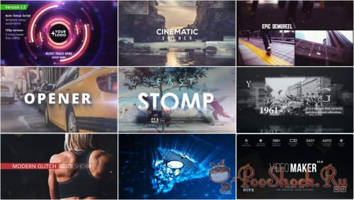 VideoHivePack - 567 (After Effects Projects Pack)