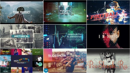 VideoHivePack - 569 (After Effects Projects Pack)