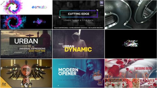 VideoHivePack - 574 (After Effects Projects Pack)