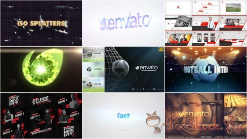 VideoHivePack - 577 (After Effects Projects Pack)