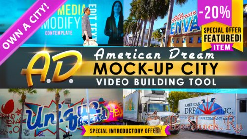 AD - City Titles Mockup Business Intro (AEP)