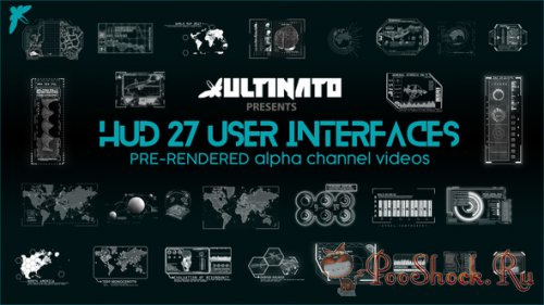 VideoHive - Hud 27 Interfaces (MOV)