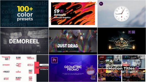 Premiere Pro Projects Pack - 26 (VideoHive)