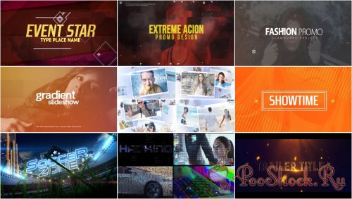VideoHivePack - 582 (After Effects Projects Pack)