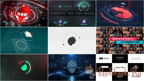 VideoHivePack - 587 (After Effects Projects Pack)