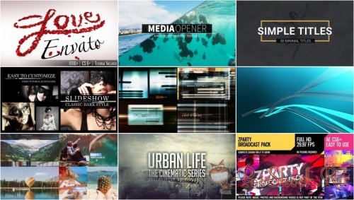 VideoHivePack - 589 (After Effects Projects Pack)