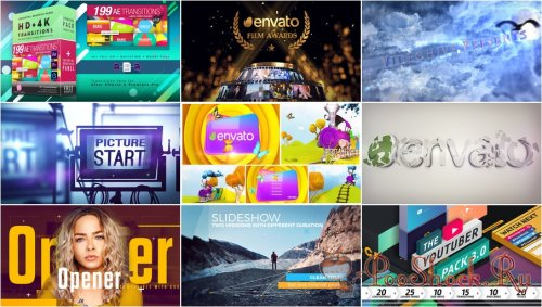VideoHivePack - 591 (After Effects Projects Pack)