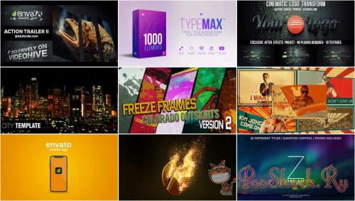 VideoHivePack - 595 (After Effects Projects Pack)