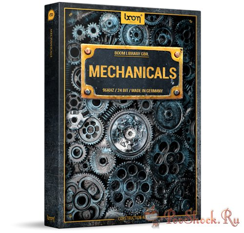 Boom Library - Mechanicals Construction Kit (WAV)