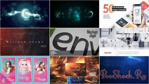 VideoHivePack - 599 (After Effects Projects Pack)