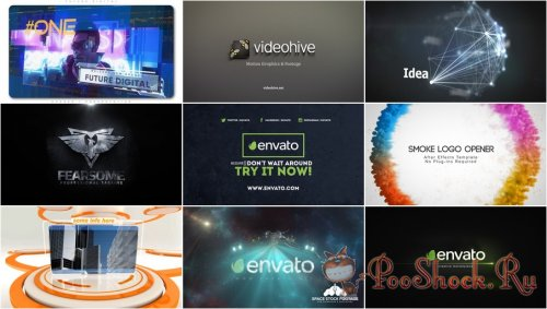 VideoHivePack - 603 (After Effects Projects Pack)