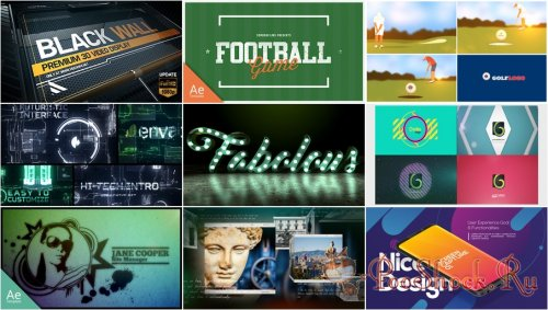 VideoHivePack - 605 (After Effects Projects Pack)
