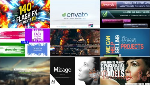 VideoHivePack - 606 (After Effects Projects Pack)